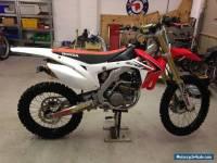 Honda CRF250 2014 motocross bike