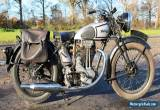 Norton circa 1939  Model 18 big 500cc OHV  for Sale