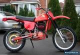 Honda CR 250 Red Rocket 1979 Classic 79 Twin shock Vintage Motocross Bike for Sale