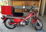 Honda Postie CT110 Registered  2007 model Good condition Drive away. for Sale
