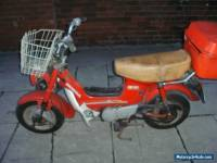 HONDA CF70C. CONTAINER FIND- RESTORATION PROJECT