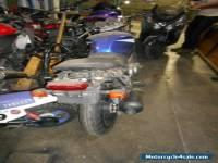 Suzuki GS500, damaged motorcycle