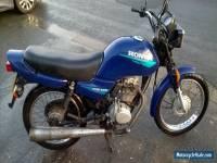 1999 HONDA CG125 BLUE