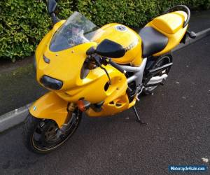 2000 SUZUKI SV 650 SY YELLOW GOOD CONDITION WITH MANY ACCESSORIES for Sale