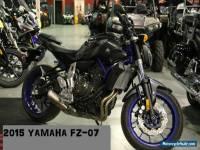 2015 Yamaha FZ
