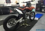 ***KTM SX 125 2014, ROAD REGISTERED, TOP END REBUILT*** for Sale