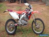 Honda CRF450 x motor bike