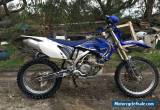 2007 yamaha wr450f comes with heaps of goodies for Sale