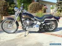 Harley Davidson springer softail mototbike