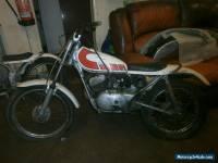 Yamaha TY80 Motor bike