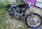harley ironhead 1971 sportster 1100, custom bobber for Sale