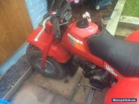 Honda atc 125m trike very rare clean example..