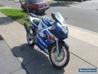 2001 SUZUKI GSXR600 (NO RESERVE)