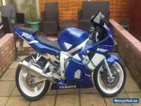 2000 YAMAHA R6 BLUE
