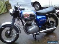 BSA ROYAL STAR 1970 500cc BLUE