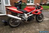 1997 SUZUKI TL 1000 S RED easy project, lots of spares, bargain! 1000cc v twin for Sale