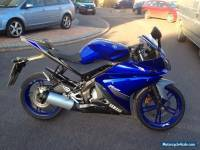 Yamaha yzf125r yzf 125 2014 5890miles FSH 1 owner excellent exsample