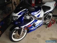 Suzuki GSXR 2001 600cc Motorbike