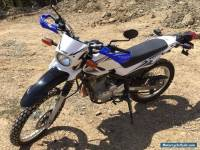 Yamaha XT250  2008 Road Trail Bike