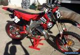 Honda CR 125 , eric gore 144 cylinder, excel wheels, heaps of aftermarket parts for Sale