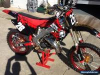Honda CR 125 , eric gore 144 cylinder, excel wheels, heaps of aftermarket parts