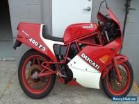 DUCATI F3 400cc NO RESERVE