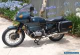 BMW R100 RS Sports Touring Motorcycle  for Sale