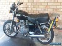 1978 black honda classic cb400t
