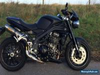 2008 TRIUMPH SPEED TRIPLE 1050 BLACK Low 2612 miles FSH Mot Ltd Edition Matte