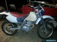 XR 250 HONDA