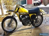 1974 Yamaha YZ