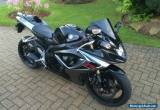 2006 SUZUKI GSXR 600 K6 BLACK/GREY LOW MILEAGE 4603 for Sale