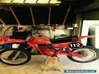 Honda Cr125 1980 twinshock