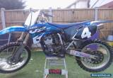 YAMAHA YZF 250 05 MODEL SPARES OR REPAIRS NON RUNNER for Sale