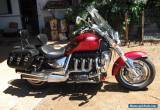 2007 TRIUMPH ROCKET 3 CLASSIC SHAFT INC ALL RIDING GEAR AND ACCESSORIES. WOW !   for Sale