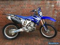 Yamaha Yzf250 motor cross bike 2006 yz250f