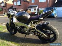 Yamaha R1 streetfighter motorbike