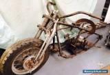 1947 HARLEY DAVIDSON KNUCKLE HEAD MOTORCYCLE (PROJECT BUILD-BASKET CASE) for Sale