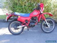 honda xl125 r classic motorcycle 1986