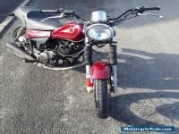 2002 YAMAHA SR 125 RED