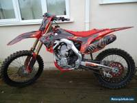 HONDA CRF 250R 2014 TWIN PIPE MOTOCROSS BIKE
