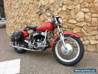 Harley Davidson Flathead WL 1943
