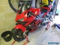 2004 HONDA CBR 600 RR-3 RED