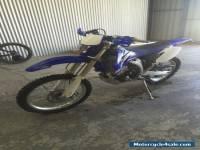 Yamaha wr450f 2010