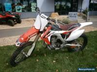 2013 HONDA CRF450R MOTORCYCLE