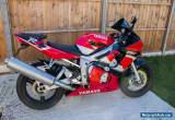 YAMAHA R6 2001 RED/WHITE EXCELLENT CONDITION LOW MILEAGE 12 MONTHS MOT    for Sale