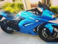 2009 Kawasaki Ninja 250 Blue