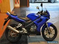 2005 HONDA CBR 125 R BLUE