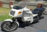 Awesome BMW K100 LT motorcycle white for Sale