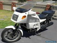 Awesome BMW K100 LT motorcycle white